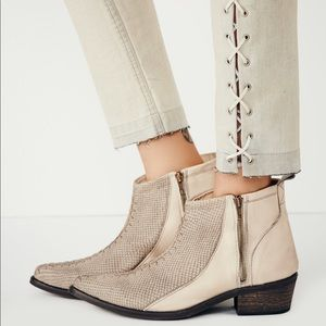 Free People Flying Ranch Ankle Boot